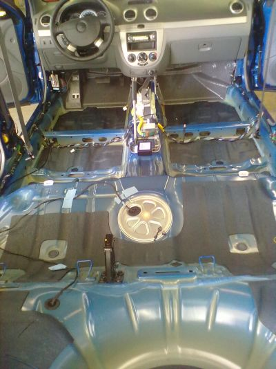 Шумоизоляция Chevrolet Lacetti