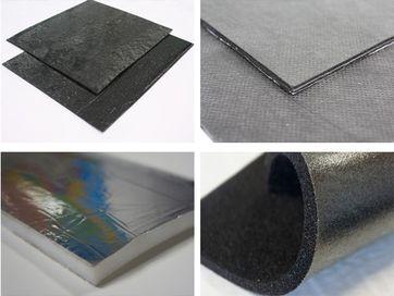 Виды шумоизоляционных материалов